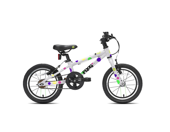 frog bikes frog 43 einsteiger fahrrad 14 zoll spotted. Black Bedroom Furniture Sets. Home Design Ideas
